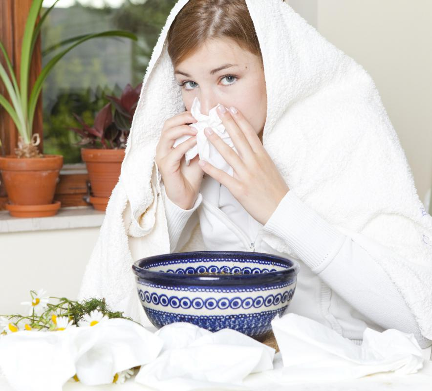 In many cases, a sinus infection is triggered by a virus or other pathogen.