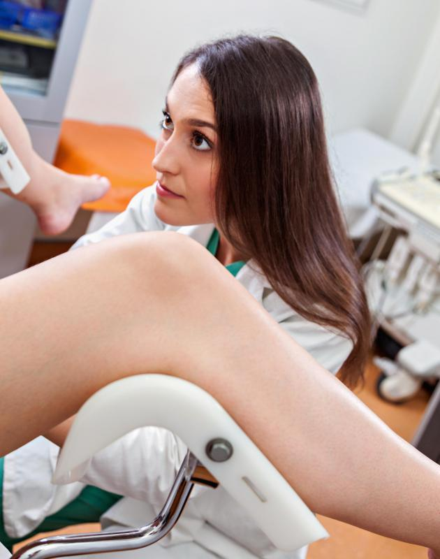 A gynecologist may perform a test called a colposcopy to investigate epithelia cell abnormalities.