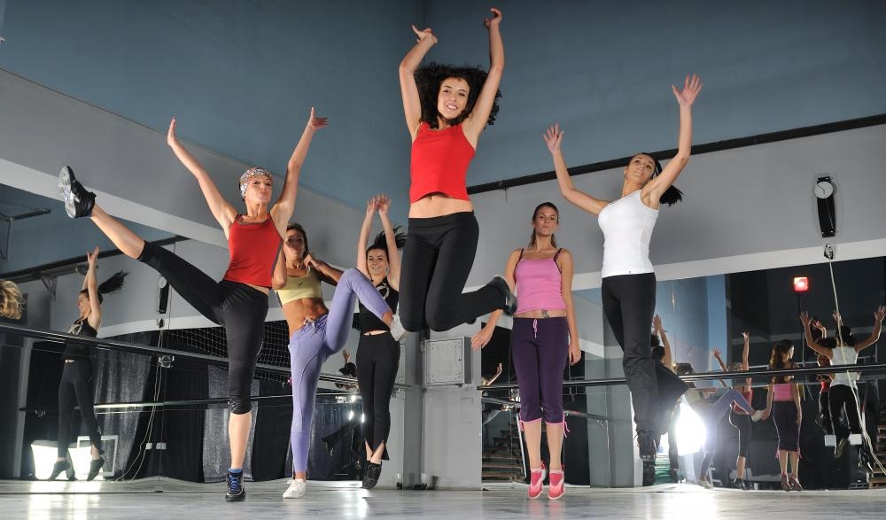 Aerobics may be included in a circuit training routine.