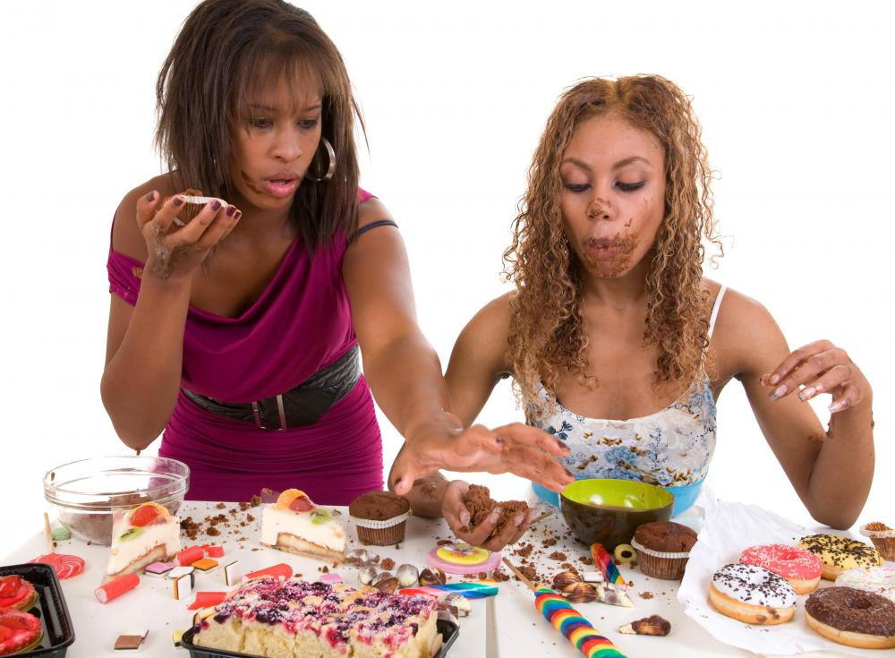 Foods that are high in sugar are unhealthy.