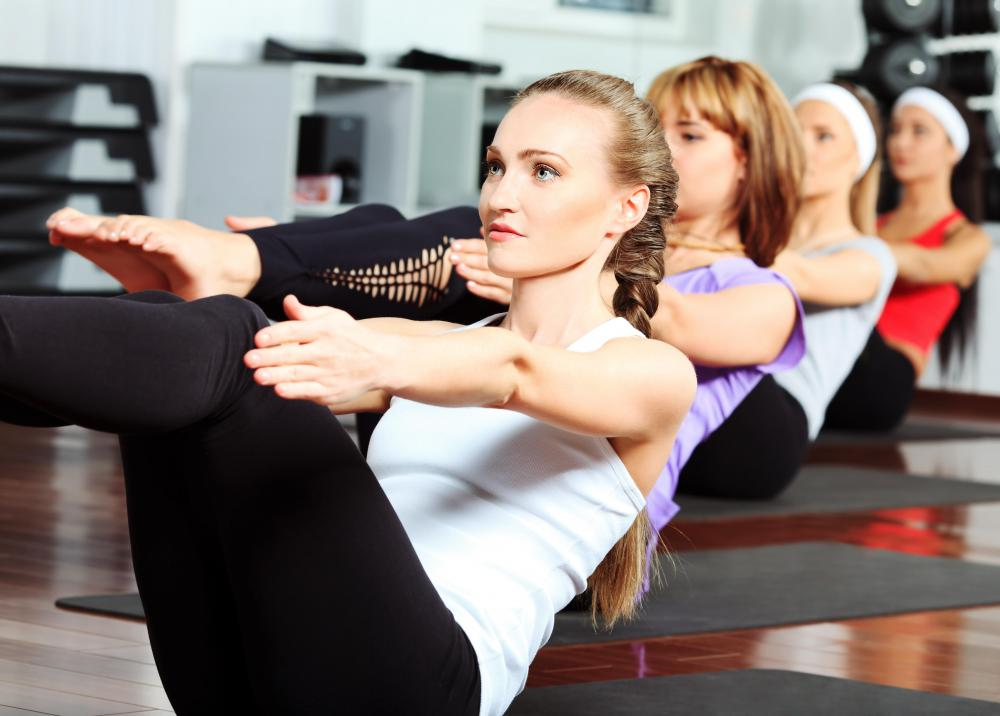 Exercise classes may be offered at a wellness center.
