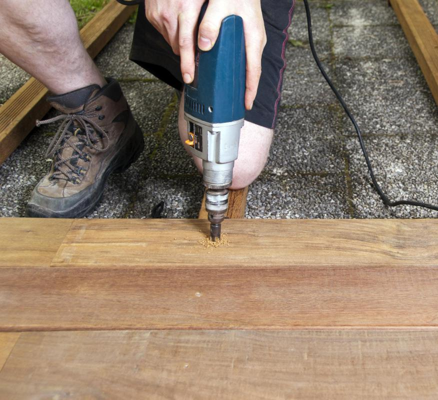 Carpenters can specialize in a number of different areas.