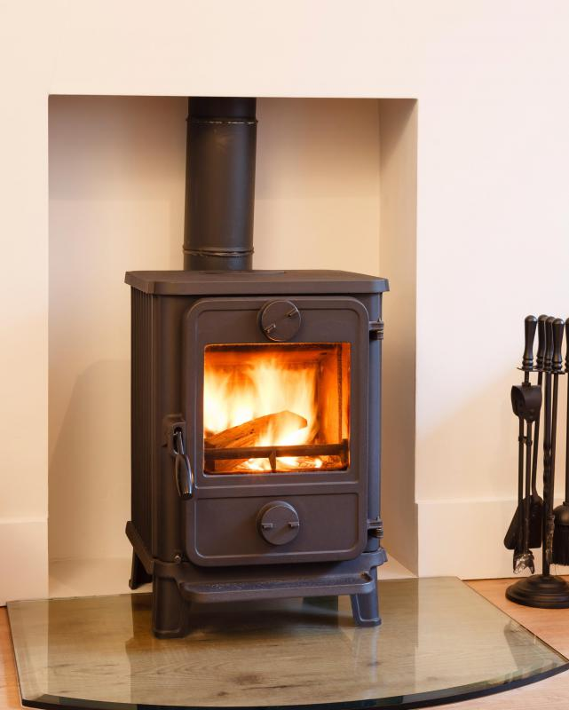 Formaldehyde may be found in exhaust from wood-burning stoves.