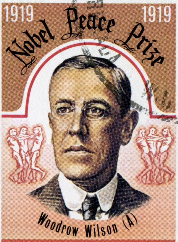 U.S. President Woodrow Wilson was the recipient of the Nobel Peace Prize in 1919.