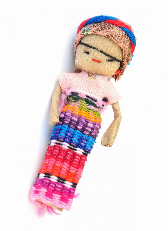 In Guatemala, many believe the use of trouble dolls can ease children's anxieties and help them sleep.
