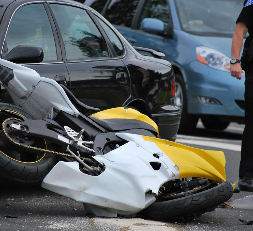 Motorcycle and car accidents commonly cause pelvis fractures.