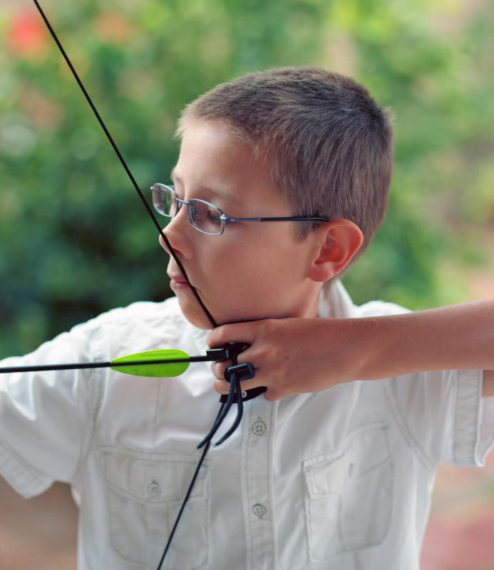 Beginning archers may wish to buy a bow and arrow set.