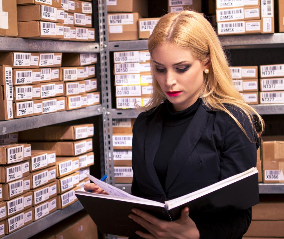Sales data is used to aid in inventory management.