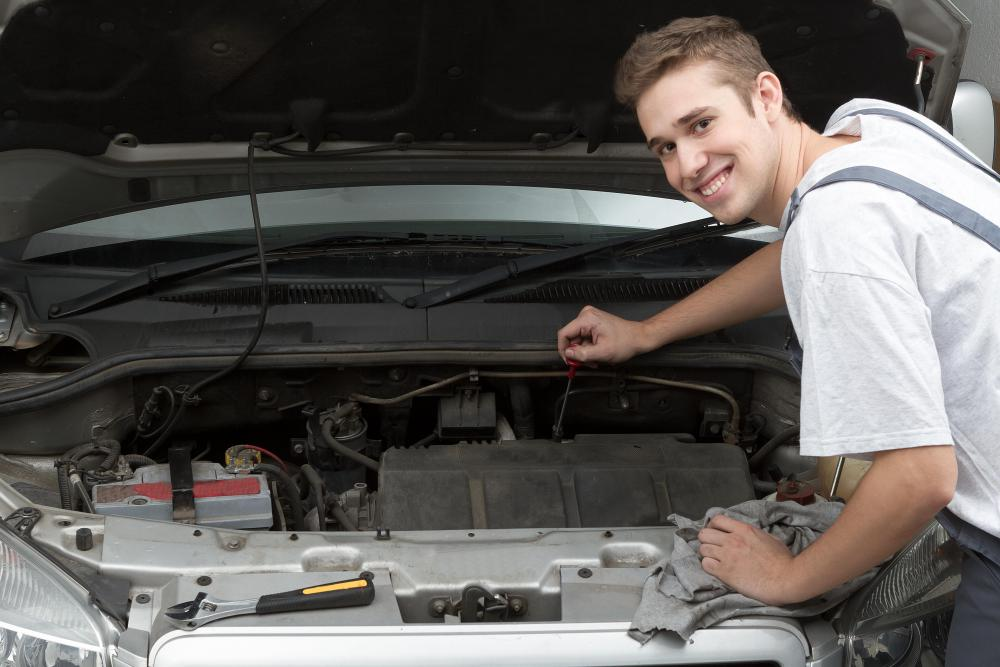 A guy who enjoys working on cars is often thought of as a man's man.