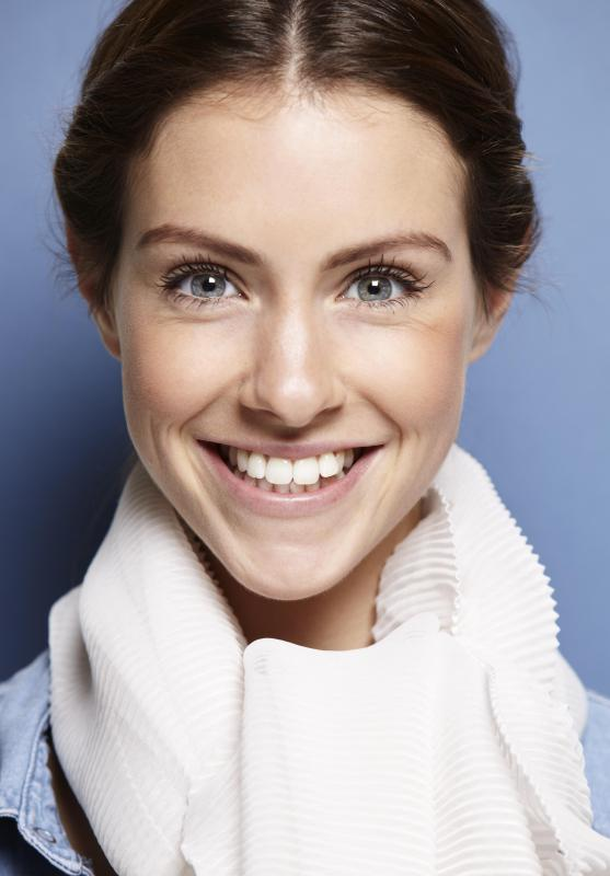 There are tooth whitening kits designed to work with ultraviolet radiation emitted by tanning beds.